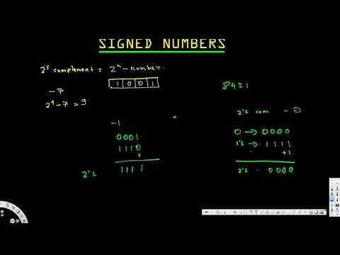 Signed Numbers - Digital Logic Design I