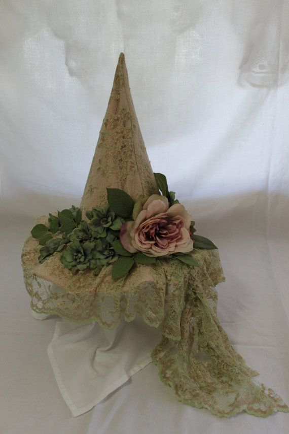 Baba Jaga Witch Hat Helena by BabaJagaBootique via Etsy. Witches Night Out is October 24th in Joliet IL!! Witches of all ages wanted! #WNO www.witchesnighto...