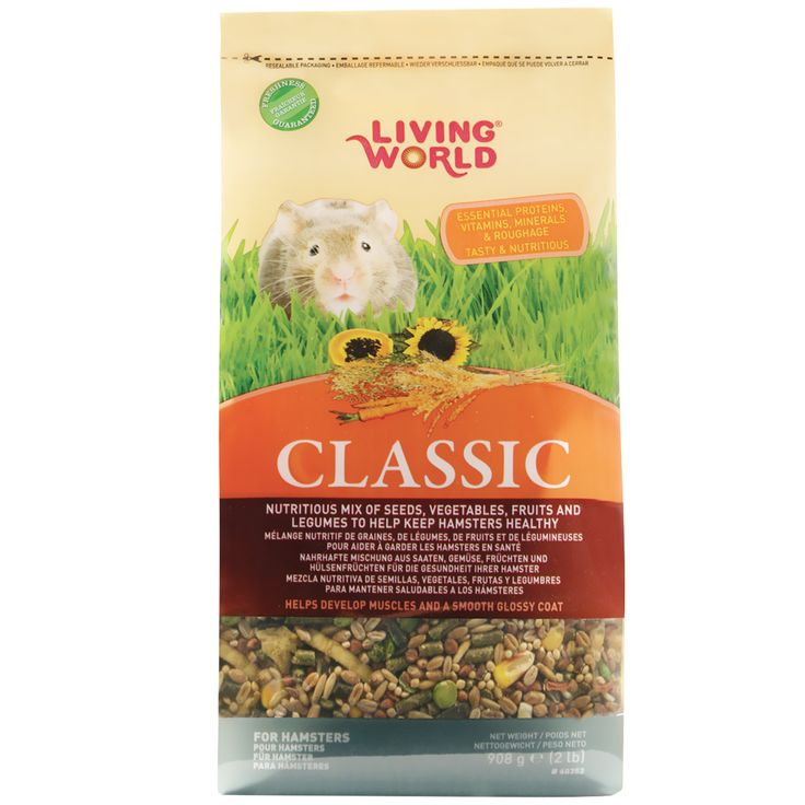 The Living World® Classic for Hamsters is balanced to help maintain the health of #hamsters.