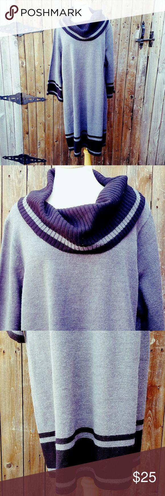Lane Bryant Cowl Neck Sweater Dress Size 22/24W Size 22/24W Lane Bryant Dresses