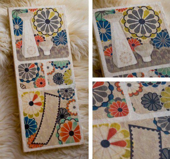 HwaTu / Hanafuda Card Design  September / by alterna180 on Etsy