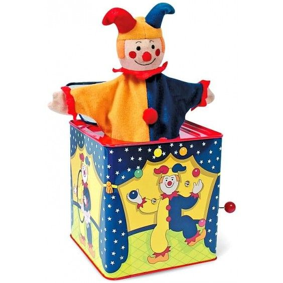 Schylling - Jack in the Box Jester. Surprise!!! #Entropywishlist #pintowin