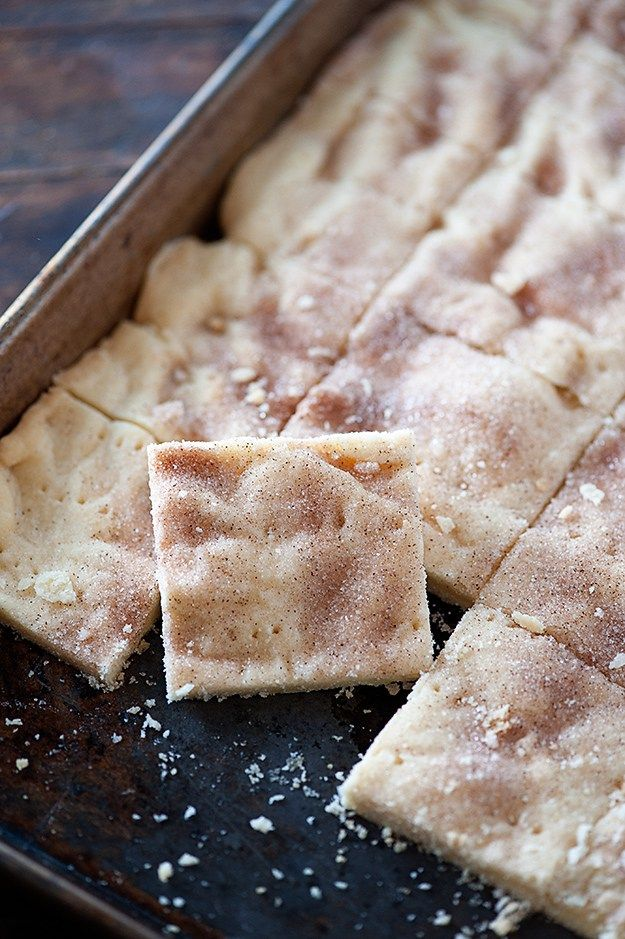 Buns In My Oven Cinnamon Sugar Shortbread Bars — Buns In My Oven