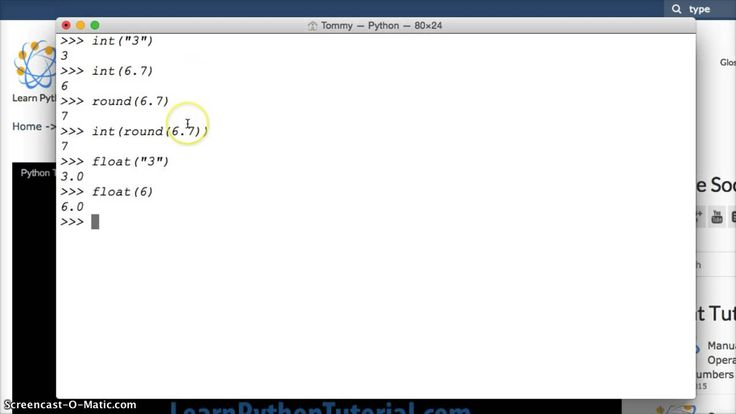 Python Tutorial: How To Convert Number Types In Python - Python Numbers #35