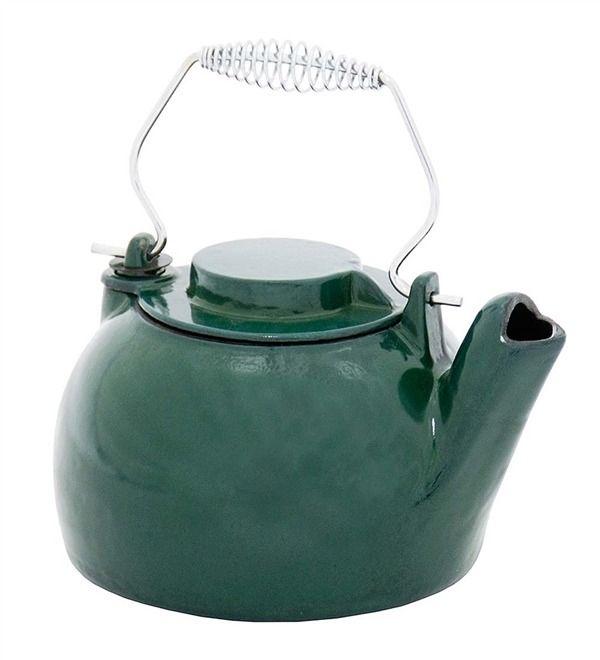 Main image for Cast Iron Steamer Kettle With Porcelain Enamel Finish