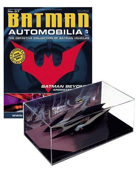 Pré-Encomenda:  Batman Automobilia Magazine with 1/43 Diecast Model 37 Batman Beyond Animated Series  Para mais informações clica no seguinte link: http://buff.ly/Rb9esS  #ToyArt #Eaglemoss #DCComics #Batman