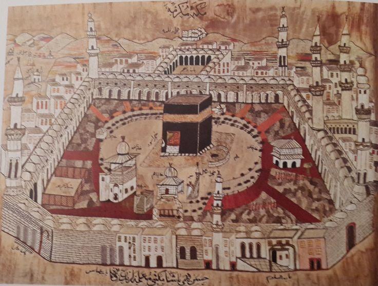 Kaaba-Kabe-19.th century-Sadberk Hanım Müzesi