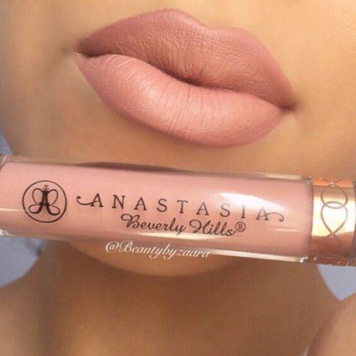 Beautiful nude matte lip gloss