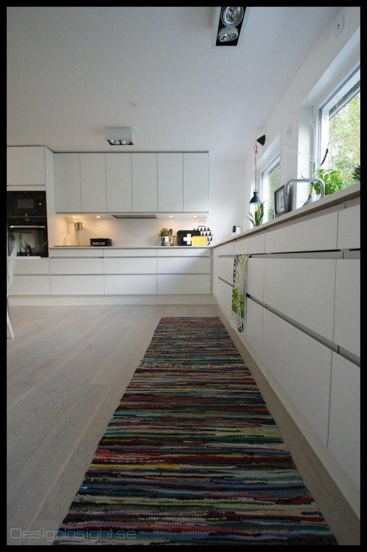 Arsta kitchens taking over. White minimalist kitchen on a budget