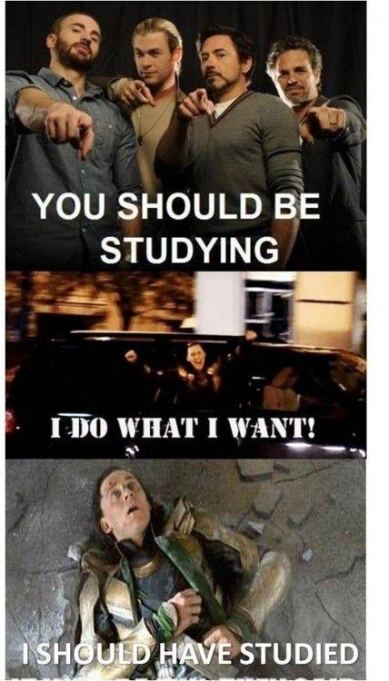 I should have studied