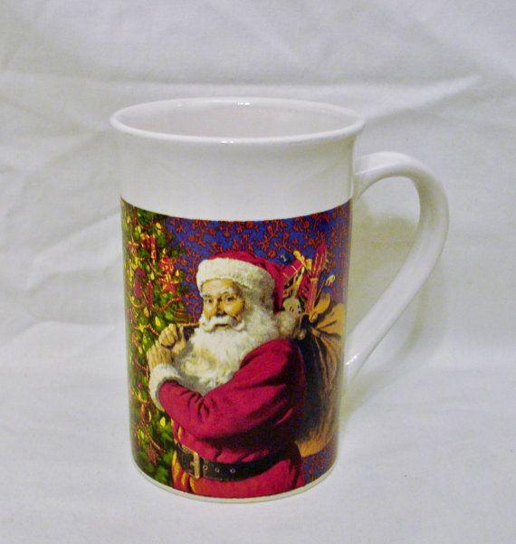Sacco di albero di Natale di Santa Claus Mug-Royal Norfolk di regali Motif-Royal Norofolk, Greenbrier International