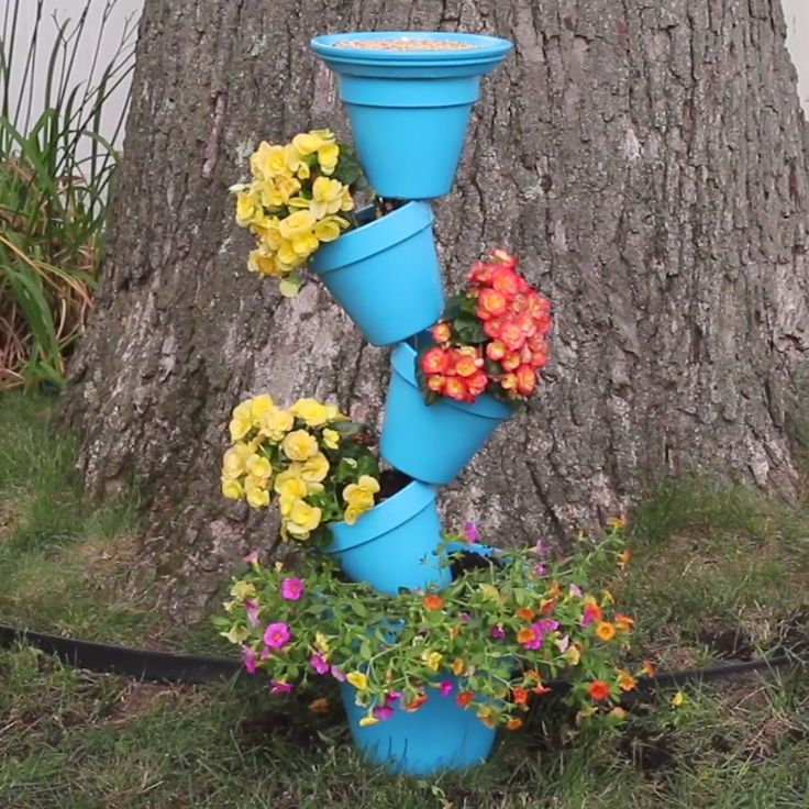 Outside Garden Ideas what a cool garden hang out spot Diy Slanted Planters Diy Garden Decorgarden Ideas