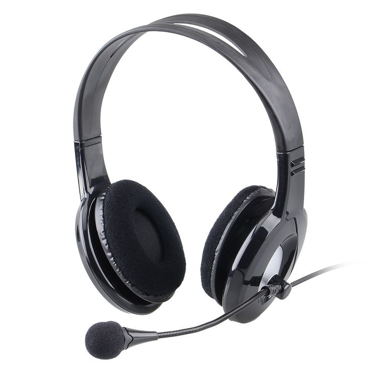 OVLENG X14 Powerful Bass Stereo Sound PC Headphone for Gaming & Skype - Black