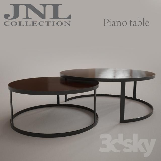 JNL Piano Table