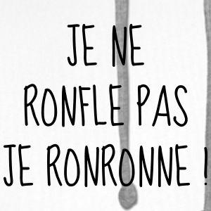 50412cacfb00b Ronfler - Ronfleur - Ronfleuse - Citation - Humour Tee shirts - Sweat-shirt  à capuche Premium pour hommes   clothes   Citation humour, Citation et Tee  shirt ...