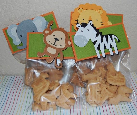 Safari Animal Treat bags/favor bags