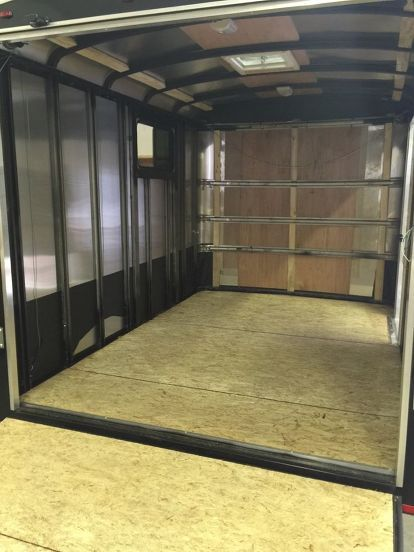 1000 Ideas About Enclosed Bed On Pinterest: 1000+ Ideas About Cargo Trailers On Pinterest