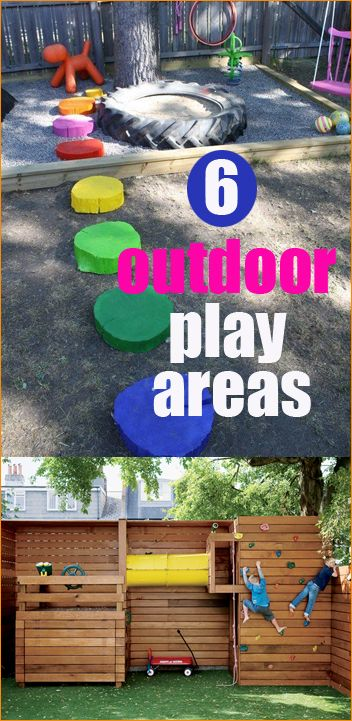 6 Outdoor Play Areas for Kids.