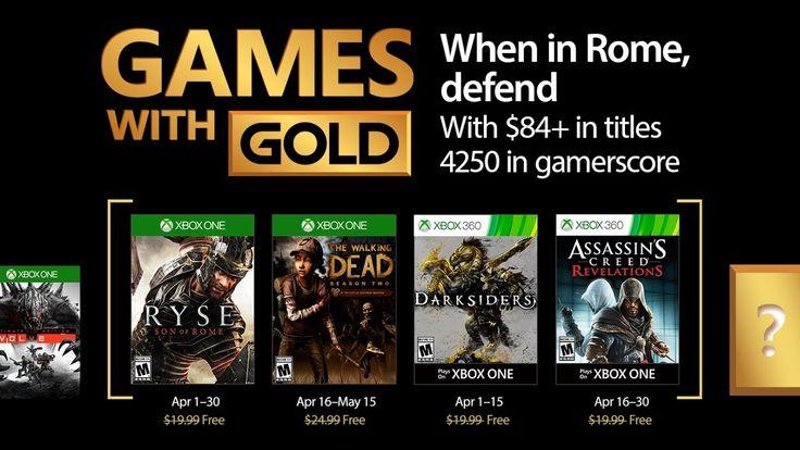 Juegos con Gold Xbox One y Xbox 360   Abril 2017
