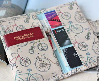 Холдер для документов Bicycle Мария Исмангалиева M`Art