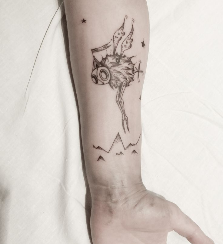 Travel, Tattoo by SIX, www.claudiasix.com