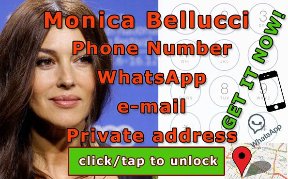 Monica Bellucci phone number  http://celebritiesmovie.com/celebrities-detail/monica-bellucci-phone-number-leaked/
