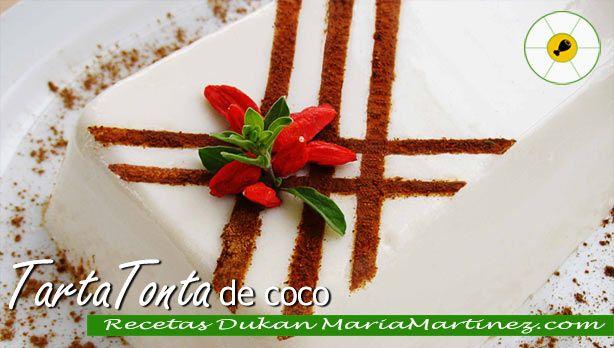 Tarta Dukan de Coco, fase Ataque