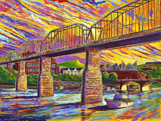 Brent Sanders: One of the best artist in Chattanooga, Tennessee!