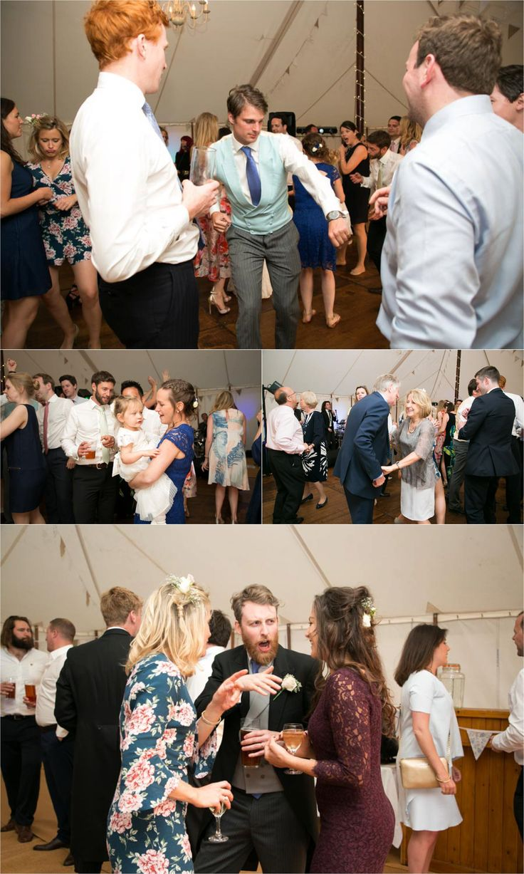 dancing in the marquee at aldeburgh wedding