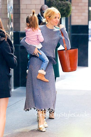 Have A Loafer Love Affair With Sienna Miller's Gucci Marmont Pump