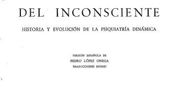 Libro: El descubrimiento del inconsciente