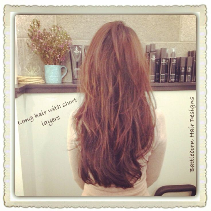 Gorgeous Long Hair With Short Layers Cut By Battleborn