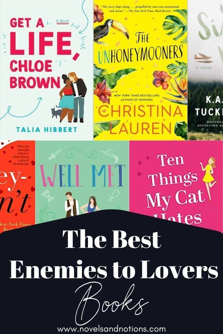 Enemies To Lovers Must Reads Novels And Notions Must Read Novels Book Lists Book Blogger