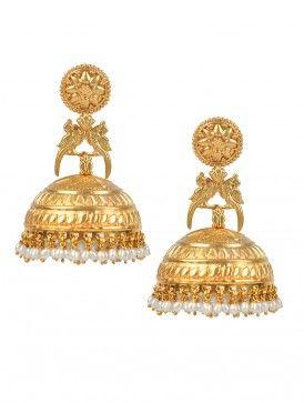 Pakshi Tribal Jhumka Earrings