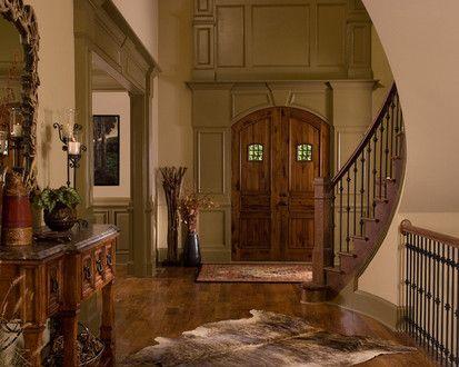 Montana Lodge, Traditional Entry, Atlanta