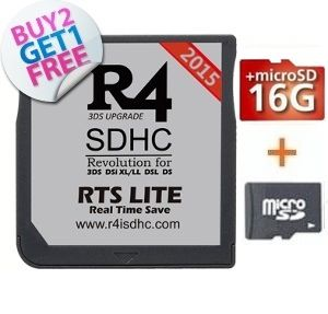 r4 3ds rts 16GB combo