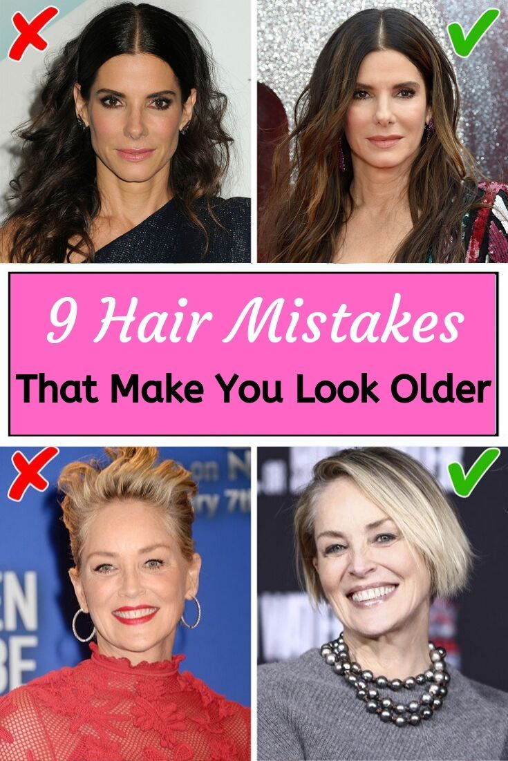 9 Hair Mistakes That Make You Look Older Hair Mistakes Hairstyles For Thin Hair Look Older