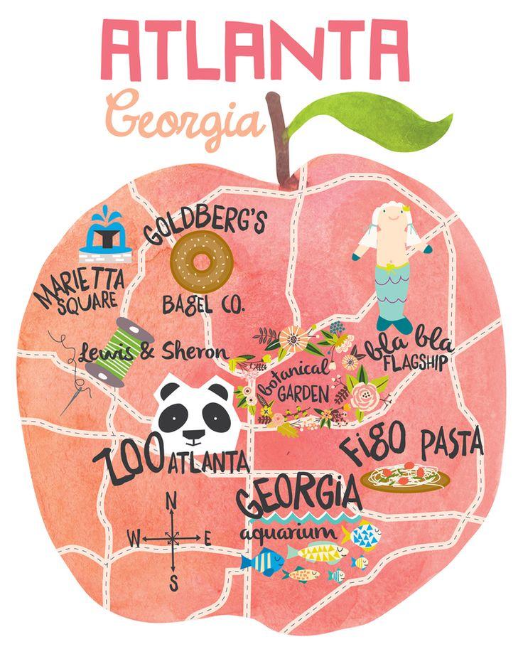 Atlanta City Guide featuring @LayBabyLay — mini style