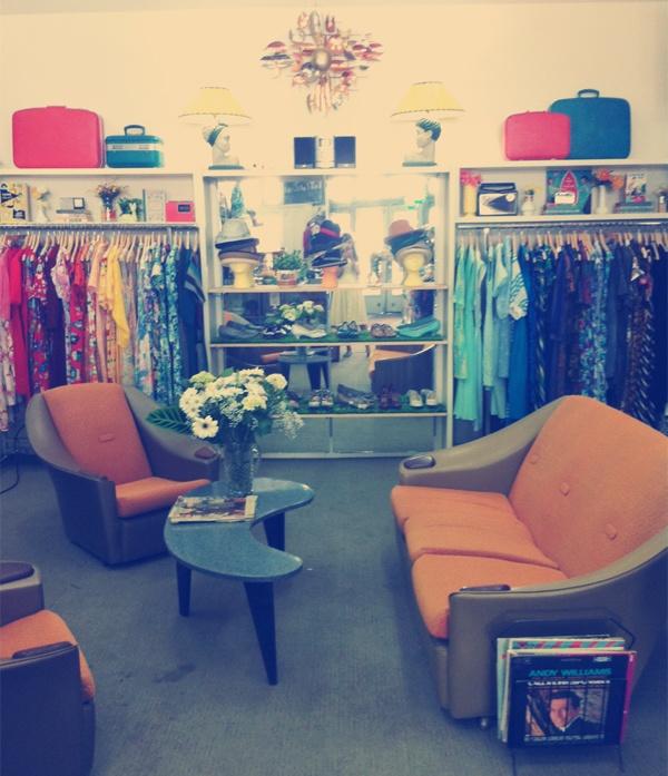 Our vintage shop!