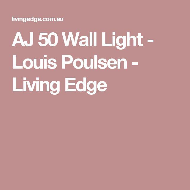 AJ 50 Wall Light - Louis Poulsen - Living Edge