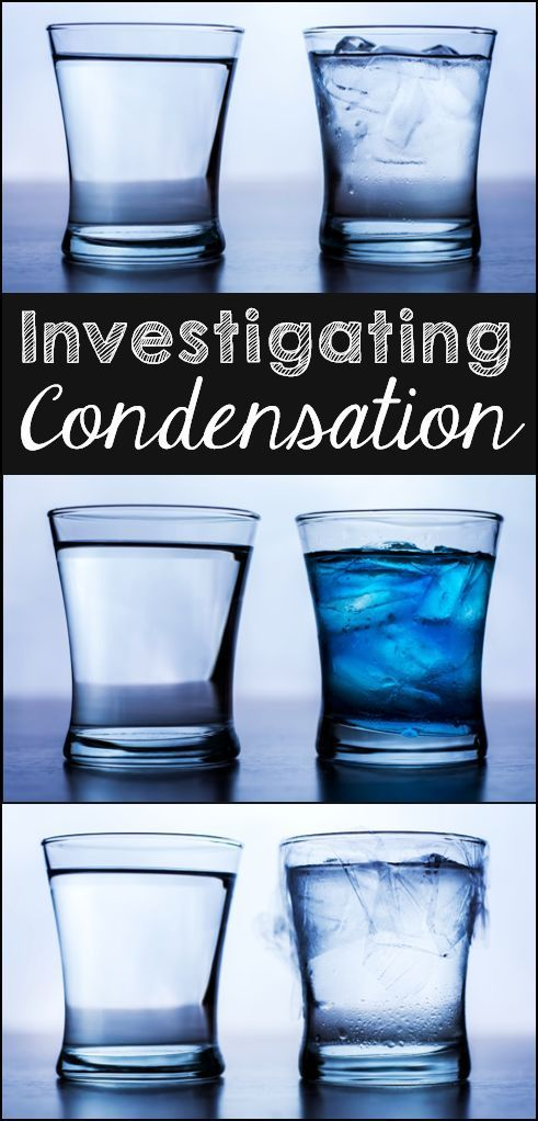 What is condensation and where does it come from? This free Condensation Investigation is a great way for kids to answer those questions and learn about the water cycle!