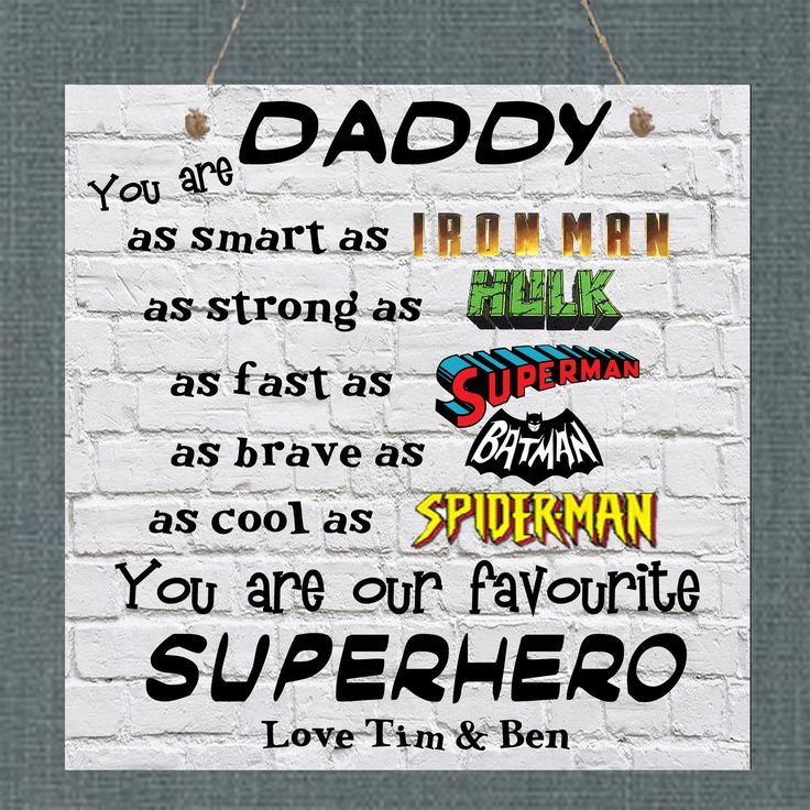 Fathers day personalised plaque dad daddy uncle stepdad