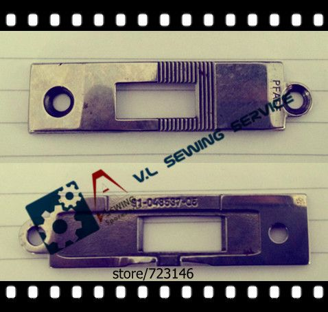==> [Free Shipping] Buy Best 91-048537-05 NEEDLE PLATE NEEDLE PLATE FOR PFAFF 591 574 571 INDUSTRIAL SEWING MACHINE PFAFF SHOE MACHINE Online with LOWEST Price   32636031509