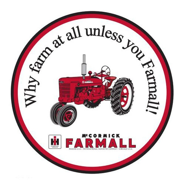 International Tractors (my grandpa's motto)