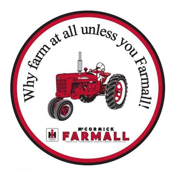 International Tractors (my grandpa's motto)