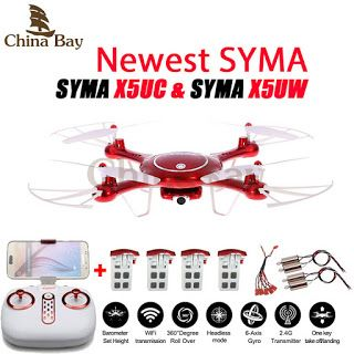 Newest SYMA X5UW & X5UC Drone 720P WIFI FPV With 2MP HD Camera Helicopter Height Hold One Key Land 2.4G 4CH 6Axis RC Quadcopter (32738424099)  SEE MORE  #SuperDeals