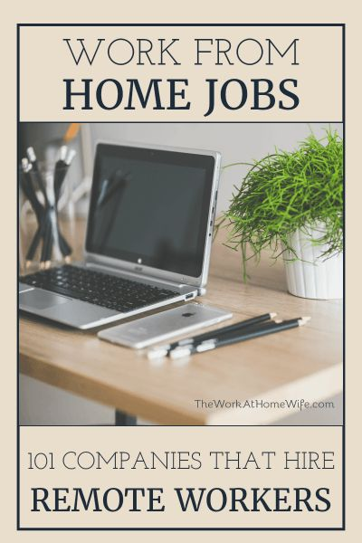 Huge list of companies that are regularly hiring people who can work from home! Definitely worth looking into whether you need a little extra money in the bank or a good, solid income