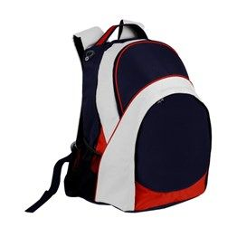 Main zippered compartment with inside pocket, Hidden hole for headphones, Large secondary zippered compartment, Front big zippered pocket with mesh bottle holder on each side, Padded adjustable backpack strap and carry handle. 600 Denier Nylon. http://catalogue.davarni.com.au/Products/Search/Products?textSearch=&category=12139&
