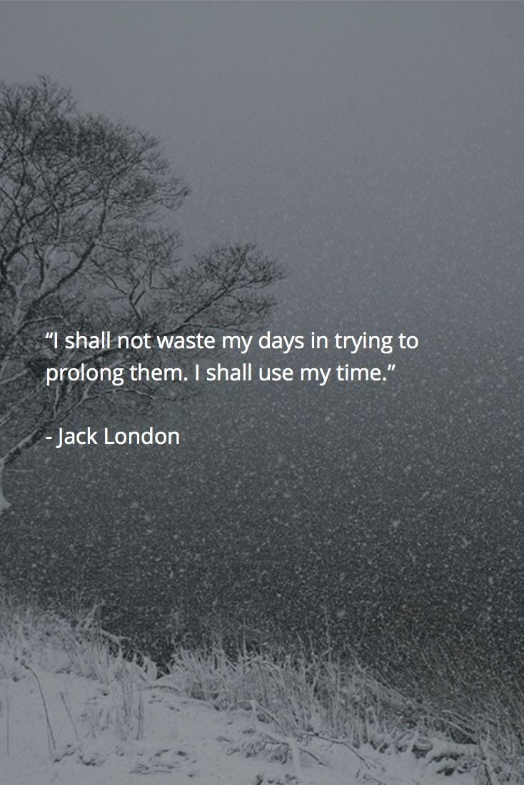 Jack London #Quote