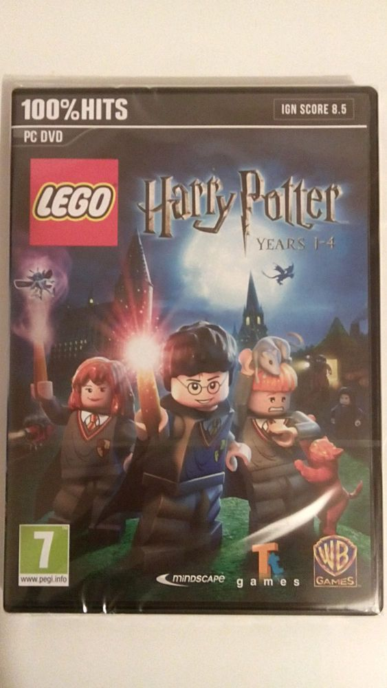 LEGO - HARRY POTTER ANNEES 1-4 - PC - NEUF